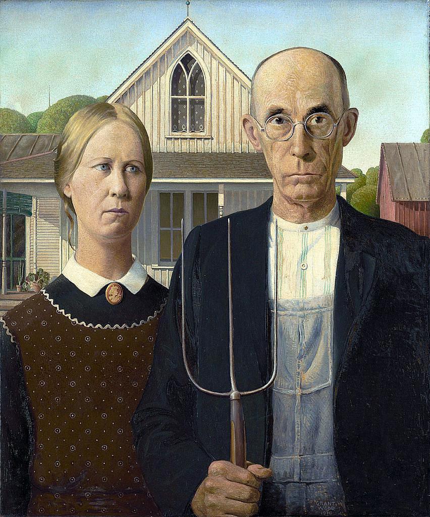 American.Gothic-美国式哥特风格