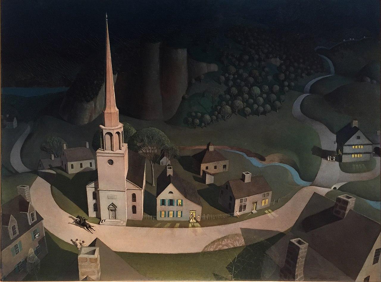 Paul Revere's Midnight Ride:保罗·里维尔的午夜骑行