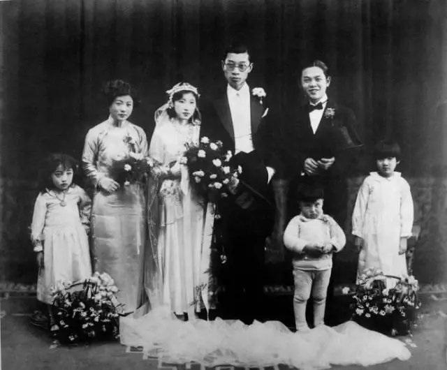 翻译家付雷结婚照